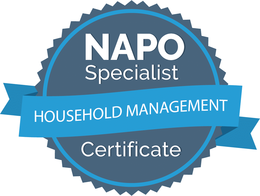 NAPO Specialist Badge - Household Management